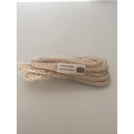 Chablot Sisal 10 mm x 4 m
