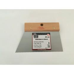 Couteau à Colle 150 à 200 gr/m2 en 20cm ref 560320