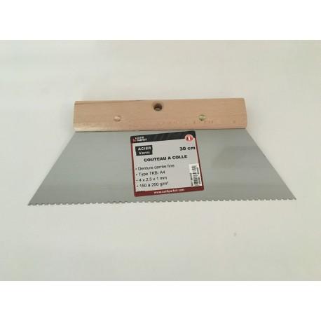 Couteau à colle 150 à 200 gr/m2 en 30cm ref 560330