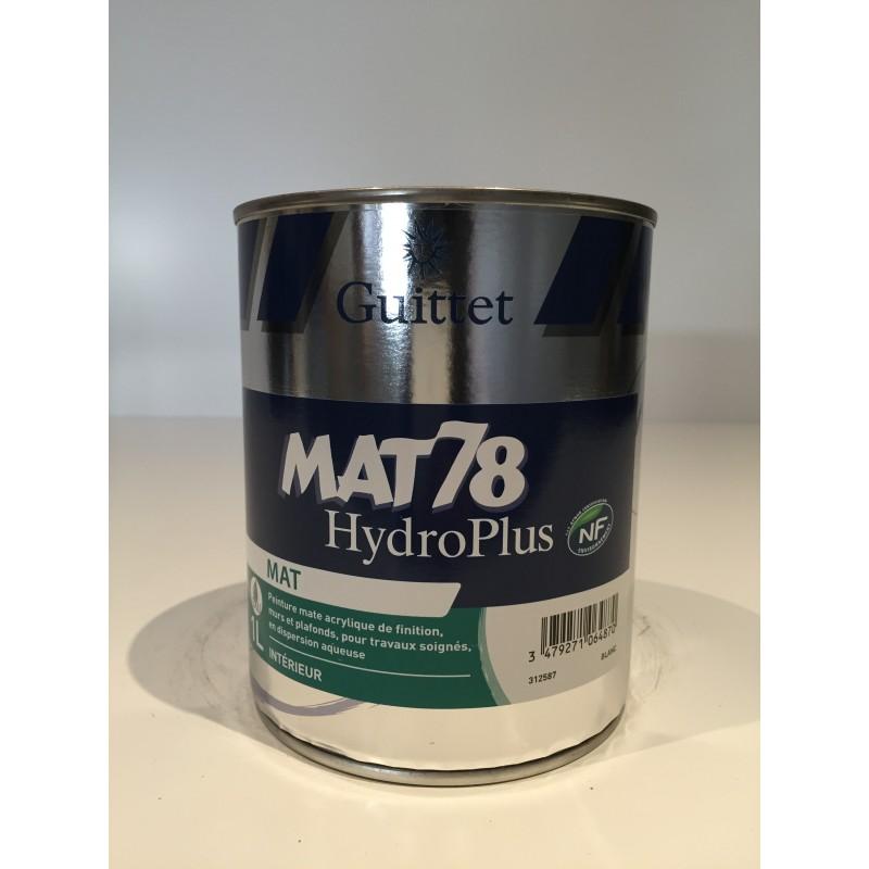 Peinture Mat 78 Hydroplus Solutions Decoration